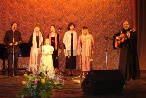 """На гала-концерте фестиваля """"Невские купола-2"""" (апрель2007г.)"""